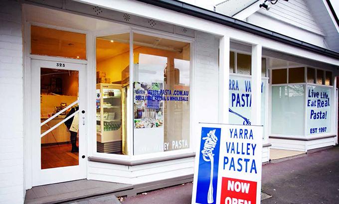 Yarra Valley Pasta on Maroondah Highway